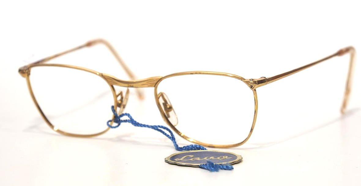 Antikbrille Golddouble 12 Karat 12755