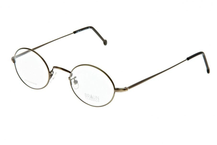Braun Classics Eyewear, Modell 121 F4 Antik Silber