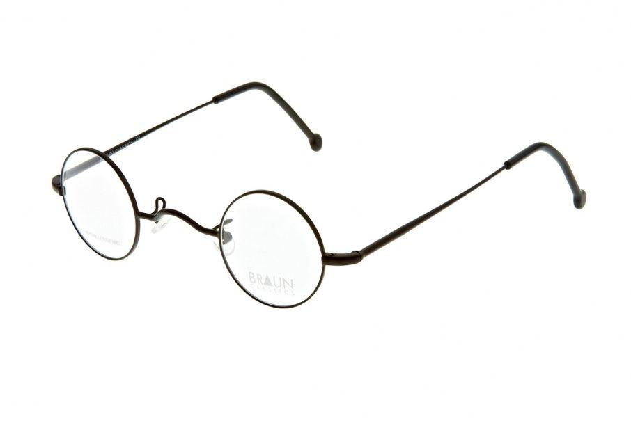 Braun Classics Eyewear, Modell 132 F3 Schwarz