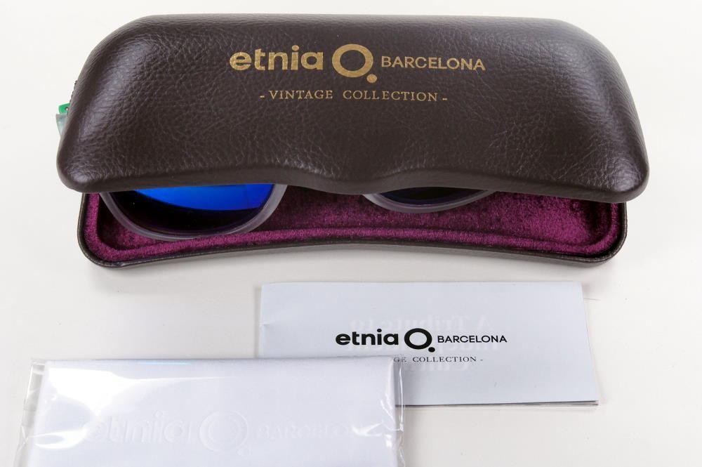 Brillenetui Etnia Barcelona Hartschalenetui mit Microfasertuch als Hartschale mit Geschenkbox