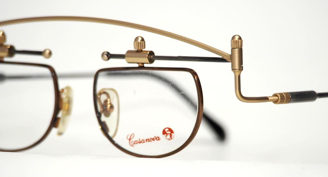 Casanova Brille,eyewear, MTC 11 C01 Made in Italy, Echt Vintage