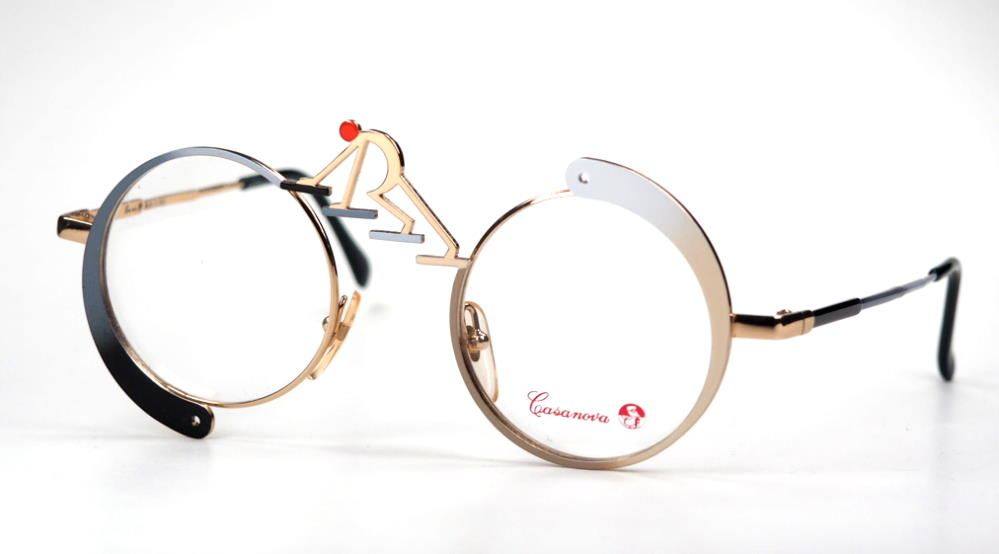 Casanova Brille, eyewear SC5 C01 Made in Italy