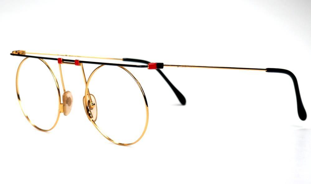 Casanova Brille, eyewear MTC 7 C01 round Made in Italy