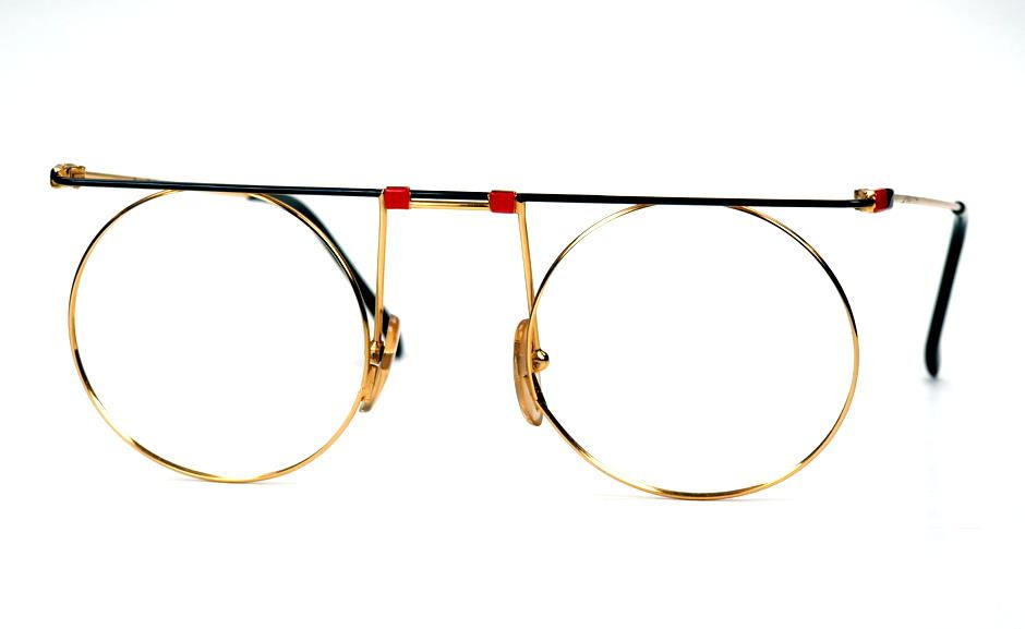 Casanova Brille, eyewear MTC 7 C01 round Made in Italy