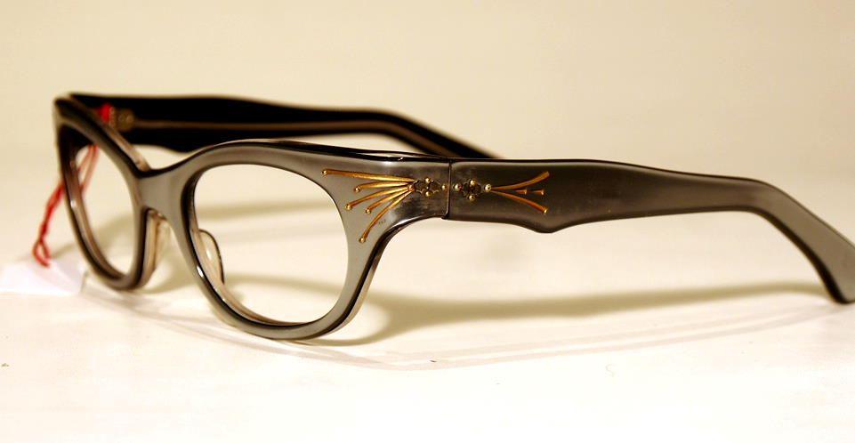 Schmetterlingsbrille der 50er Jahre Cateye Brille