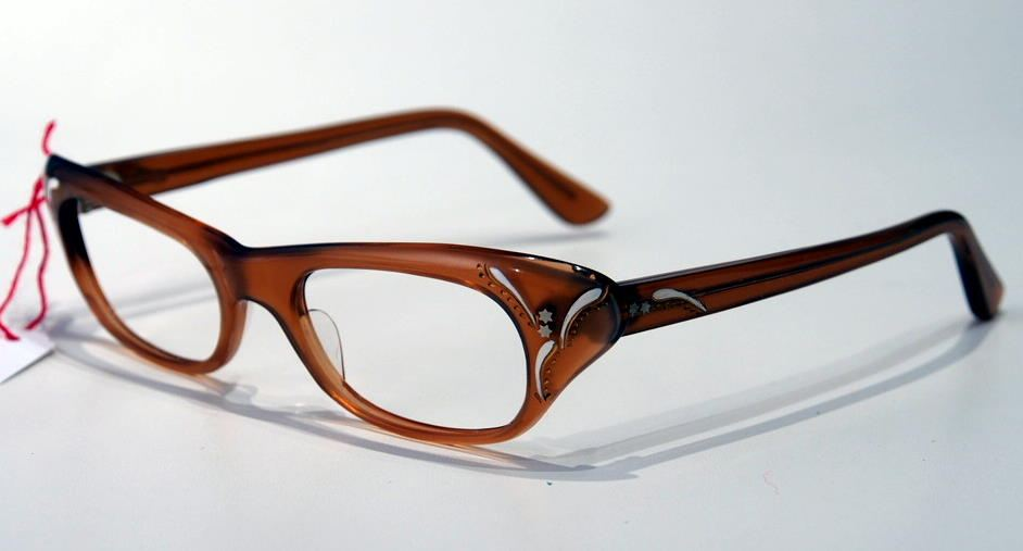 Cateye Brille der 50er Jahre Schmetterlingsbrille