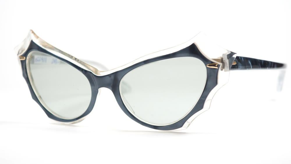 Cateye Brille der 50er Jahre, eine außergewöhnlich schöne Schmetterlingsbrille