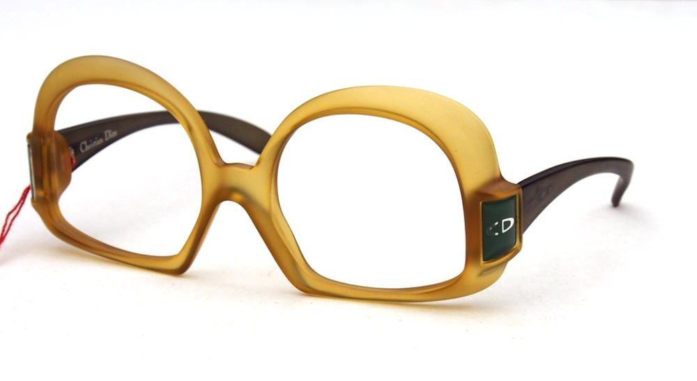 CHRISTIAN DIOR Damenbrille aus den 80er Jahren aussergewöhnliche Form