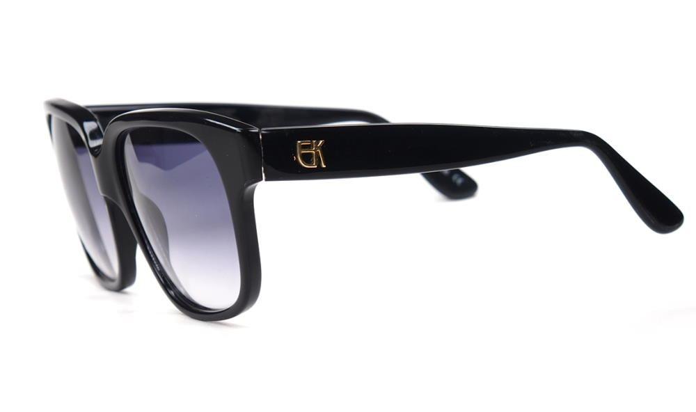 Emmanuelle Khanh Vintagebrille schwarz, original Vintage Brille der 70er Jahre