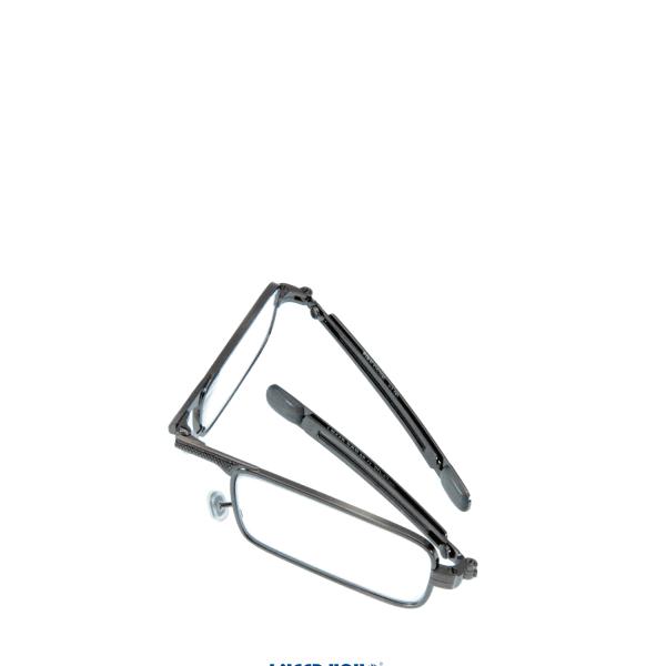 Faltbrille, Klappbrille, Fertigbrille, Lesebrille im Feuerzeugetui  +1,0,+1,5,+2,0,+2,5,+3,0dpt, G5 200