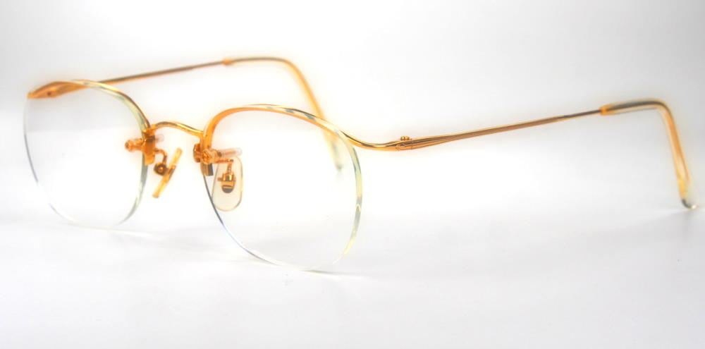 Goldbrille 18 Karat aus den 60er Jahren 415117