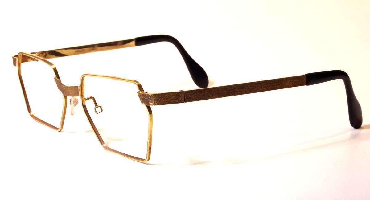 Goldbrille 585er  Gold,  14 Karat auch eine Wertanlage Modell Oberbalken 3