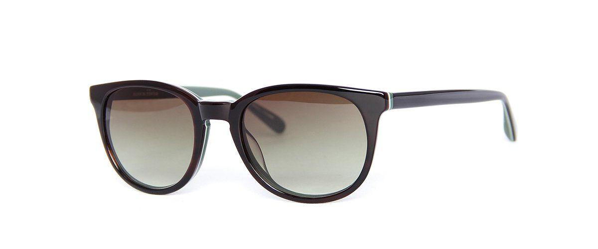 Hamburg Eyewear Lasse Sun 10 dunkelbraun, dunkelgrün