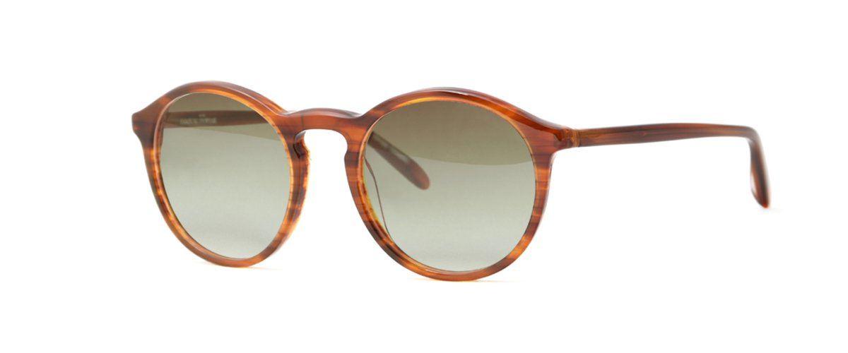 Hamburg Eyewear Luisa Sun 51 mahagoni, strukturiert