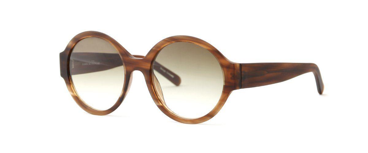 Hamburg Eyewear Svenja 2 Sun 27M haselnuss, strukturiert, matt, Sonnenbrille