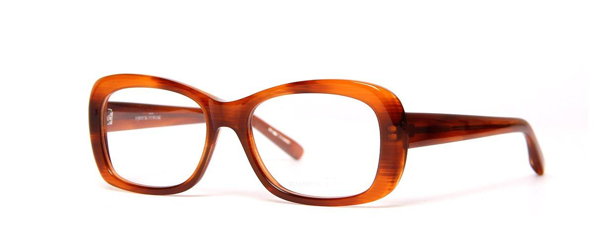Hamburg Eyewear Frida 25 hellbraun meliert