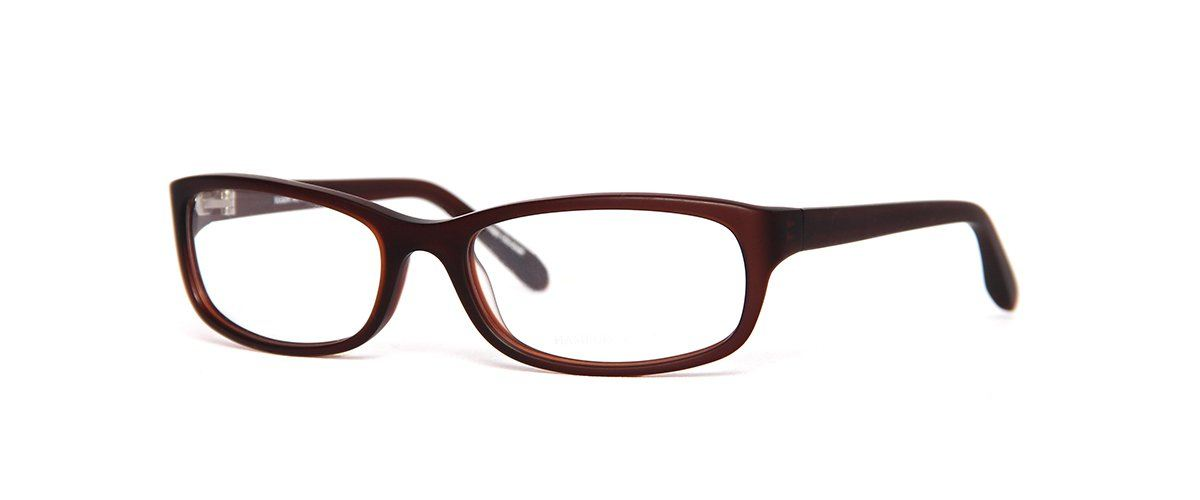 Hamburg Eyewear Paul 295M kastanien-braun transparent matt