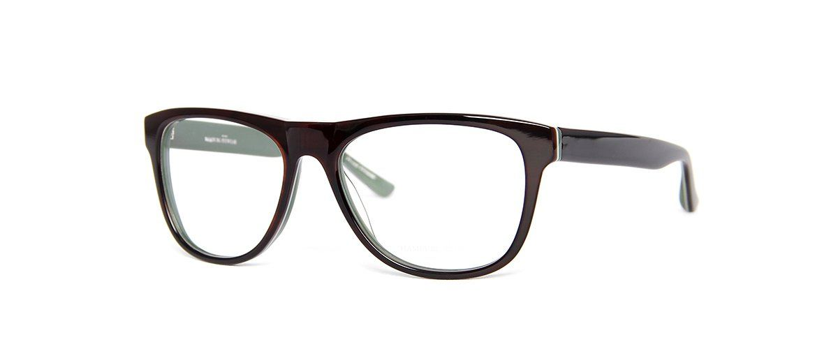 Hamburg Eyewear Hinnerk 10 dunkelbraun, dunkelgrün