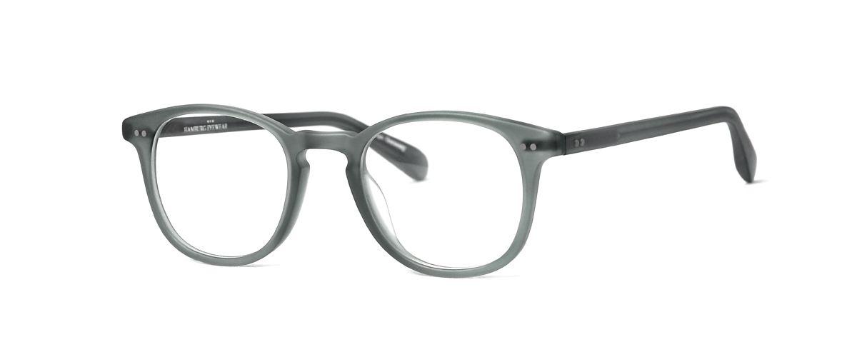 Hamburg Eyewear Leo 33M meeresblau, transparent, matt