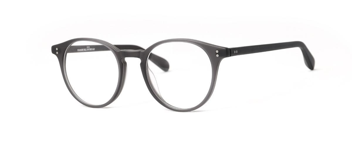 Hamburg Eyewear Mika 36M schwarz grau, strukturiert hinterlegt, matt