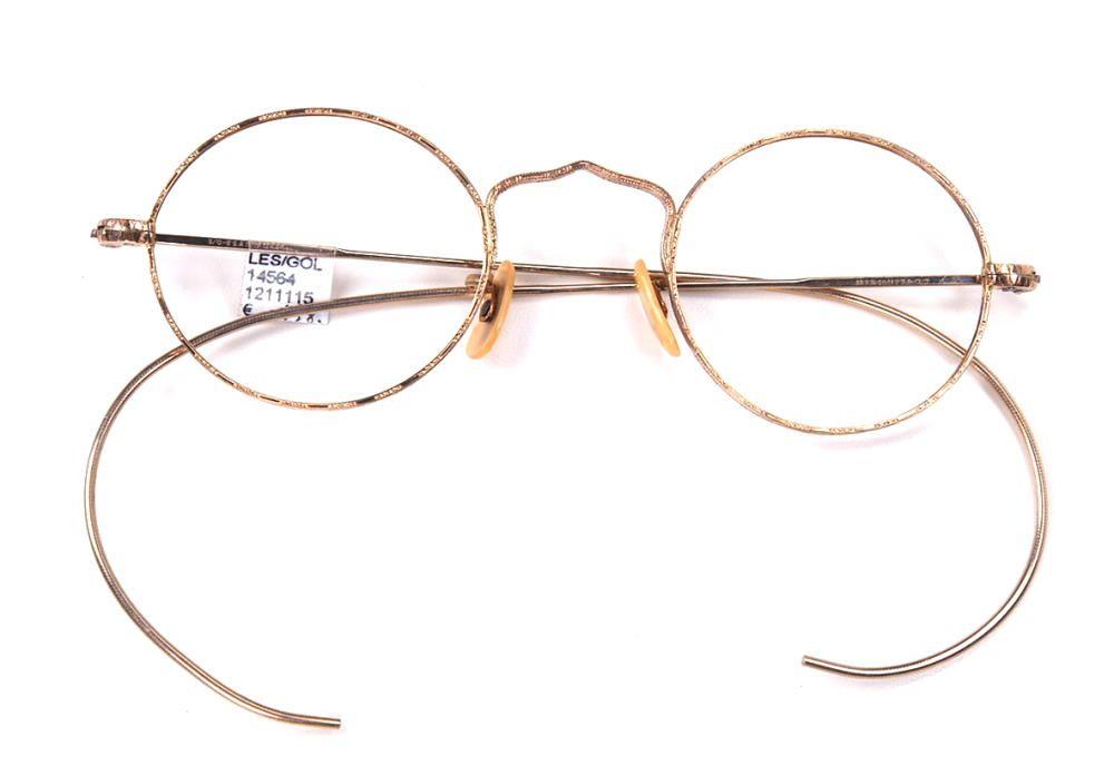 Echte Antikbrille aus den 30er Jahren 12 Karat Golddouble