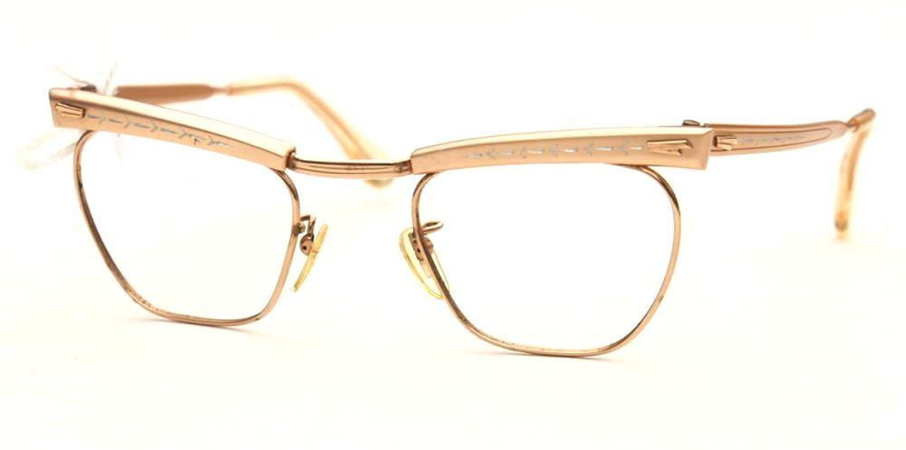 Cateyebrille, Schmetterlingsbrille aus den 50er Jahren, True Vintage,
