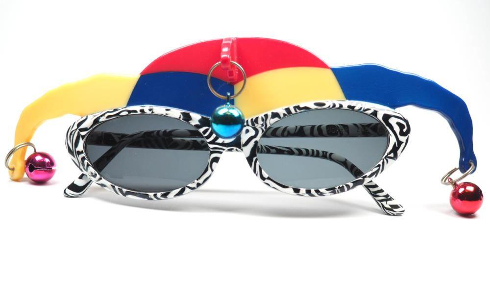 Anglo American Joker, Kasper Vintage Brille Sondermodell aus dem Jahr 1980,  verrückte Brillen, außergewöhnliche Brille, coole Vintagebrille,