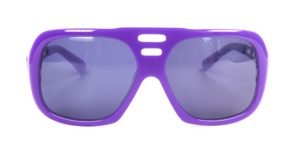 Lila Sonnenbrille echt Vintage aus den 70er Jahren 17972