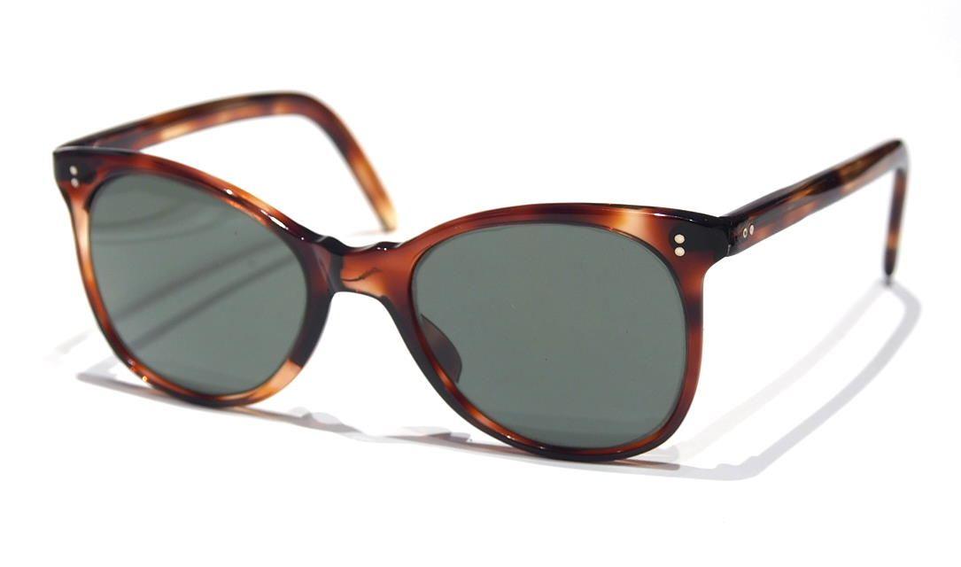 40er Jahre Kult-Sonnenbrille, Brille der späten Vierziger Jahre P1240050