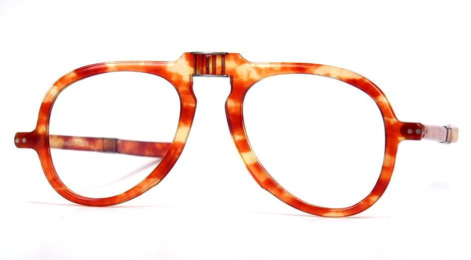 Faltbrille, Klappbrille, Lesebrille, echt Vintage aus den 70er Jahren