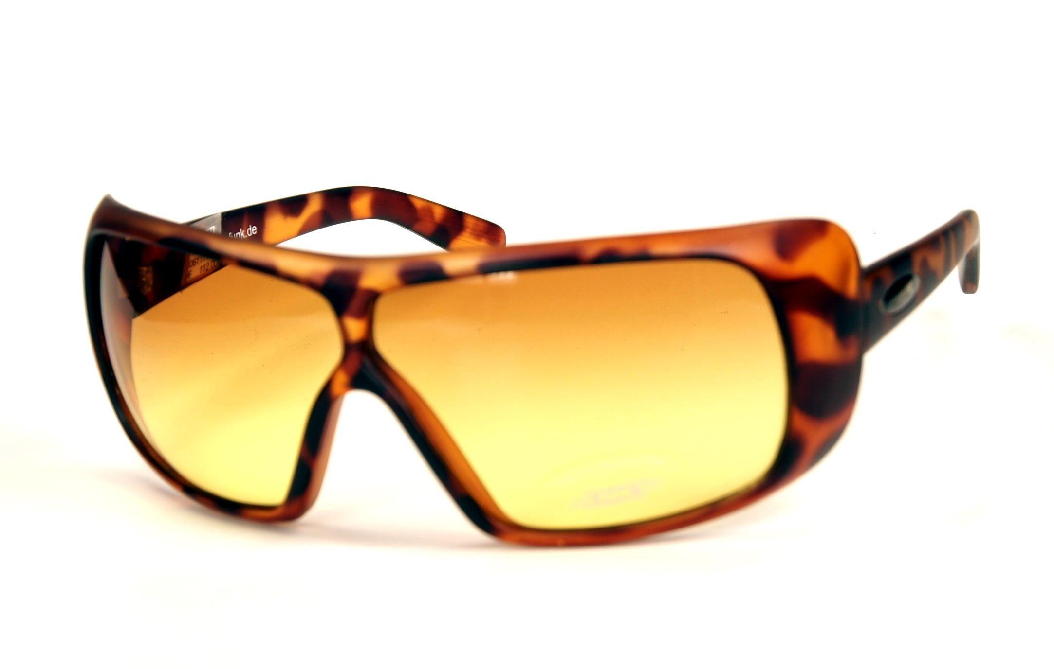 Funk Retrobrille, Vintage Sonnenbrille aus den 90er Jahren ungetragen, 100% UV Protection, Modell: 1001