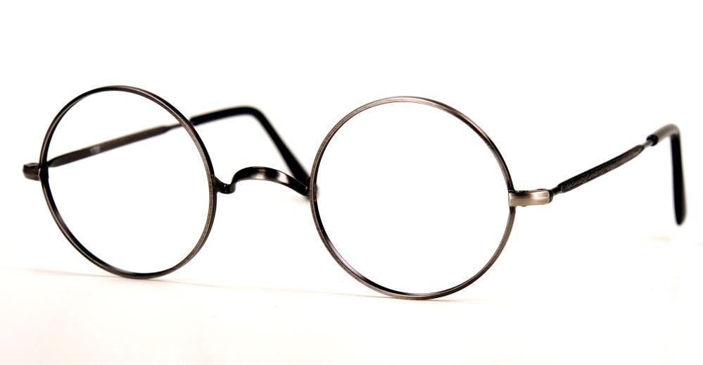 John Lennon Brille aus Metall antiksilber K.1700