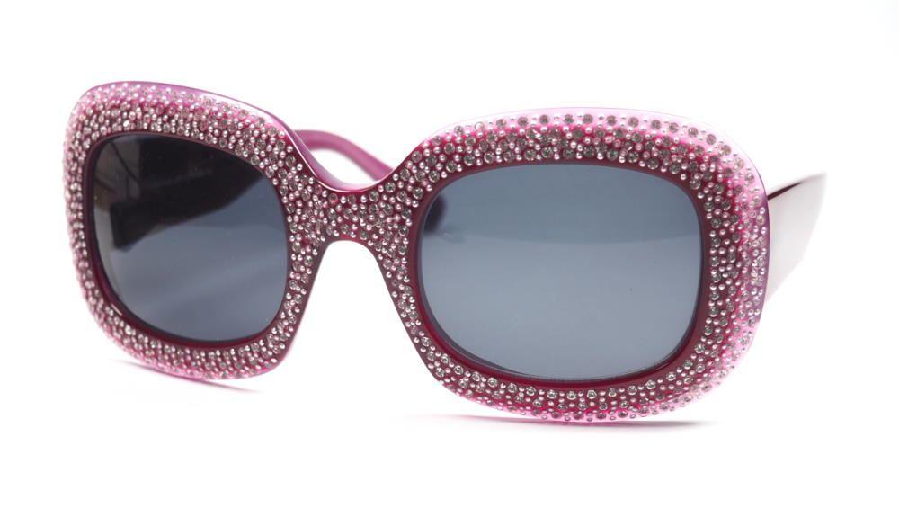 Strassbrille der 80er Jahre, Vintage,  Damenbrille mit Strass besezt
