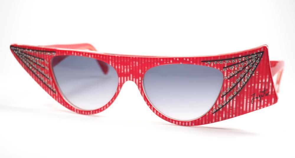 Jagato Brille 362  für Maske und Kostüm , Requisiten, Brillenrequisiten,  verrückte Brillen, außergewöhnliche Brille, coole Vintagebrille