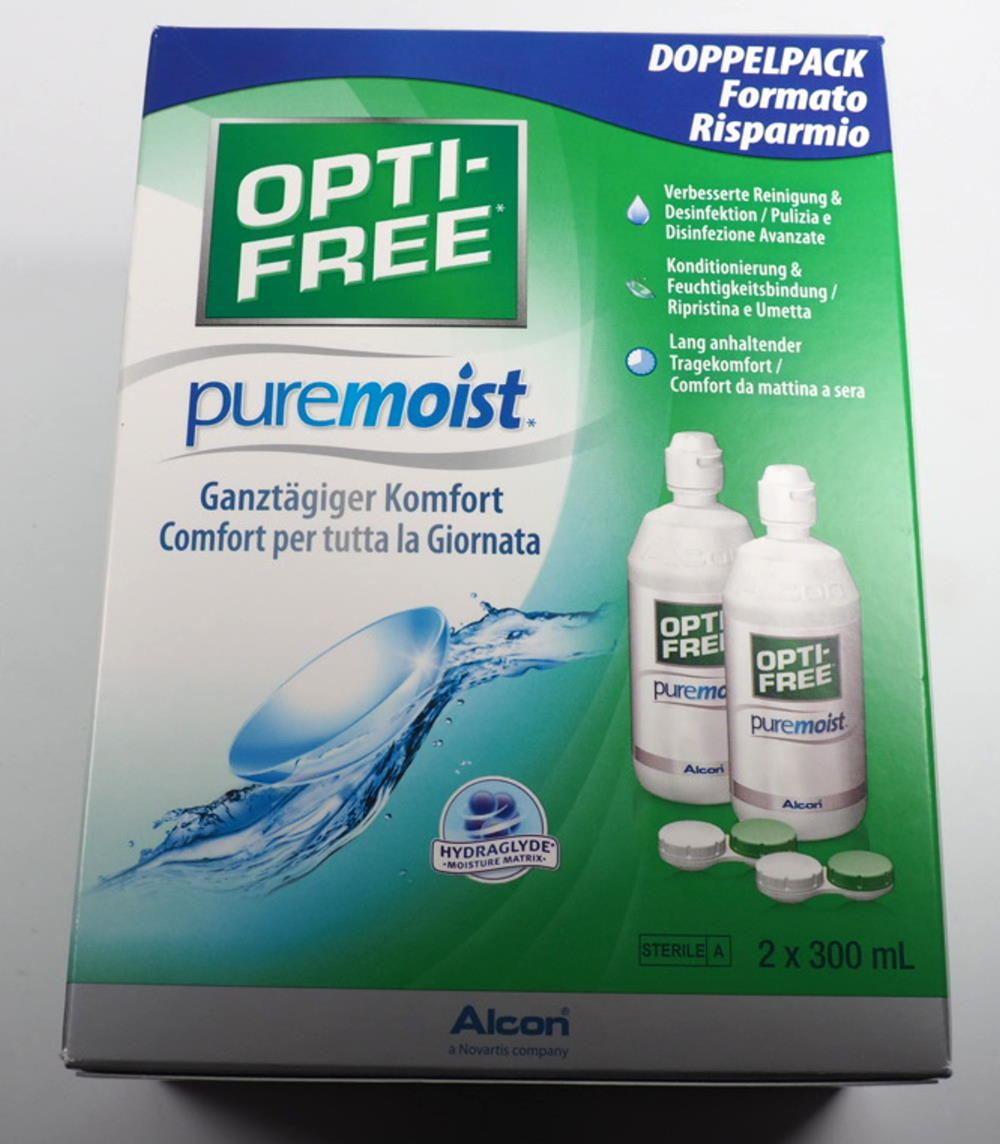 Optifree Puremoist 3-Monatspack