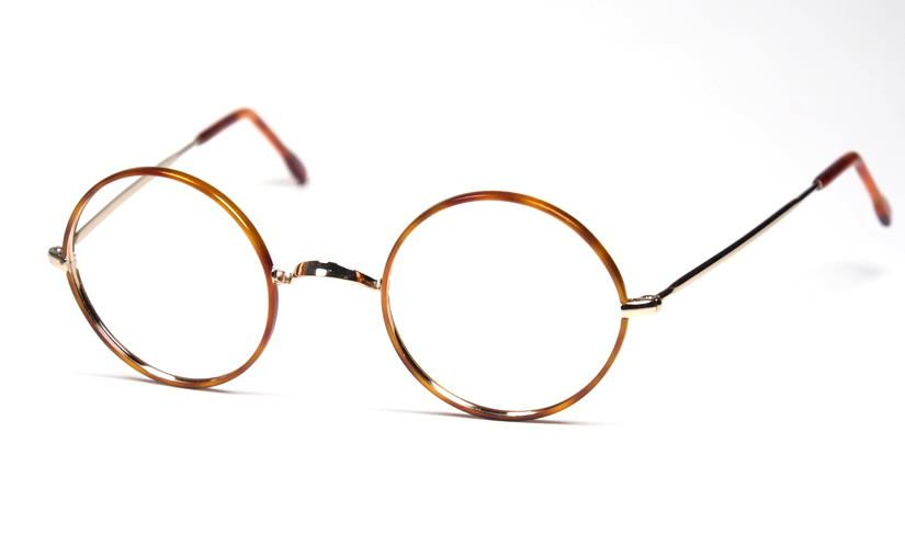 John Lennon Brille aus Metall hellen Winsorrändern 1700W hell