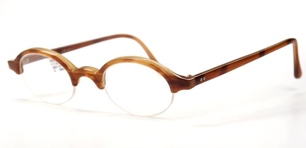 Hornbrille Vintage aus Naturhornbrille von Hoffmann 11120