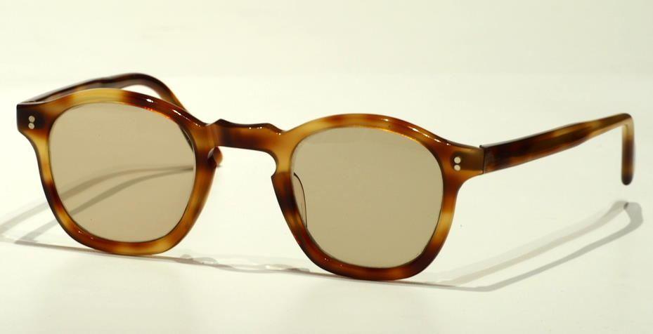 Pantobrille Vintage Herrenbrille in havanna aus den 40er Jahren