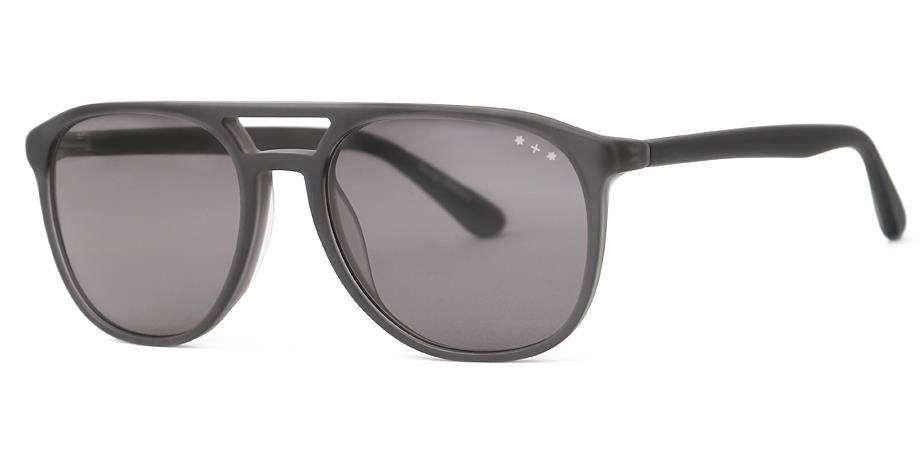 Peter Sun 36M | schwarz grau, strukturiert hinterlegt, matt, Hamburg Eyewear Sonnenbrille