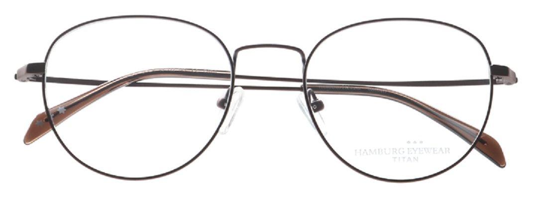 Hamburg Eyewear Piet col 4 braun matt ,