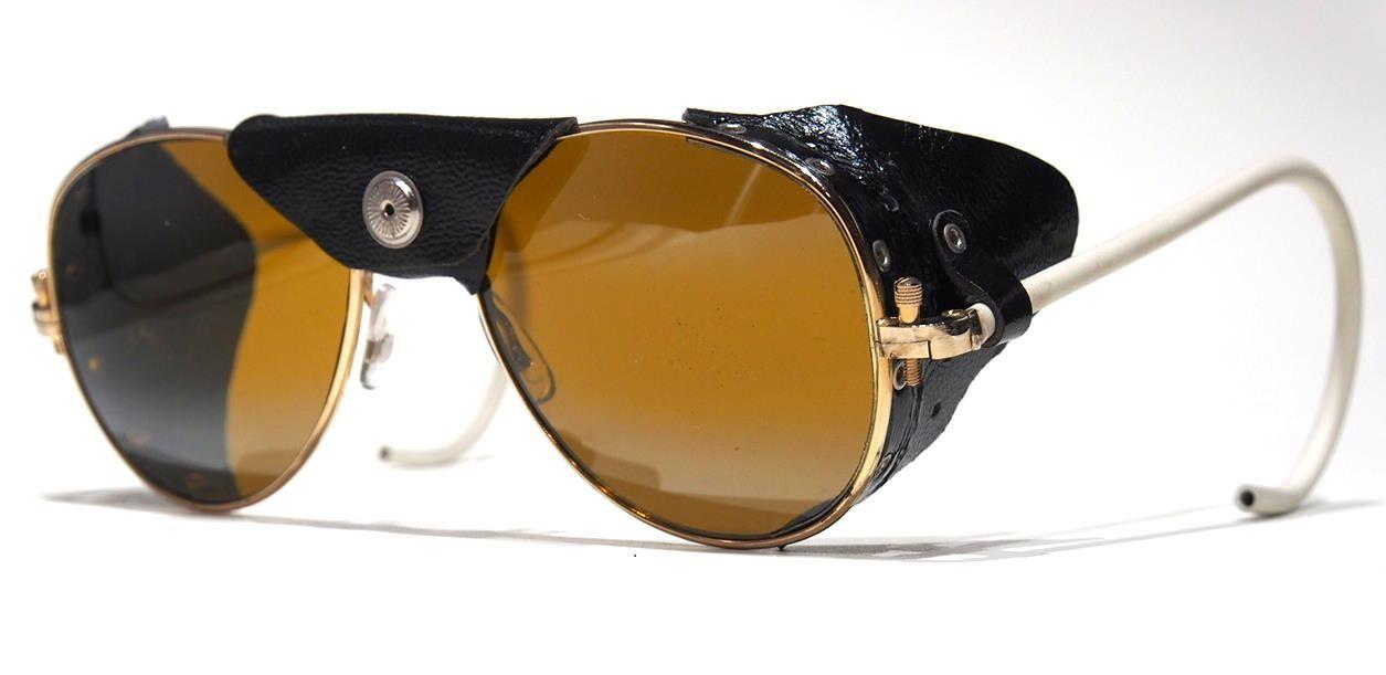 Vintage Flieger Sonnenbrille, Pilotenbrille aus den 70er Jahren 7120216