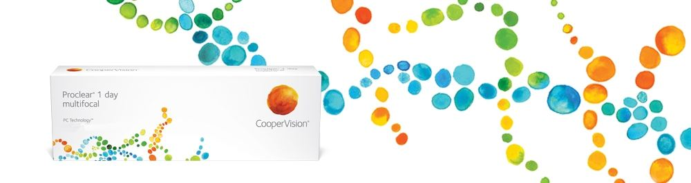 Cooper Vision Proclear 1 day multifocal 30er Box