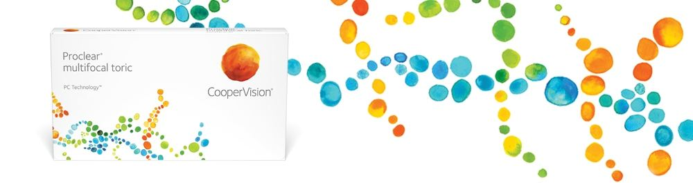 Cooper Vision Proclear multifocal toric 6er Box