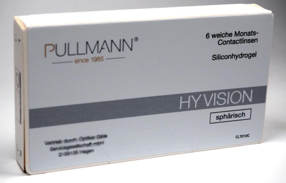 Pullmann Hy Vision Kontaktlinsen sphärisch 6er Box
