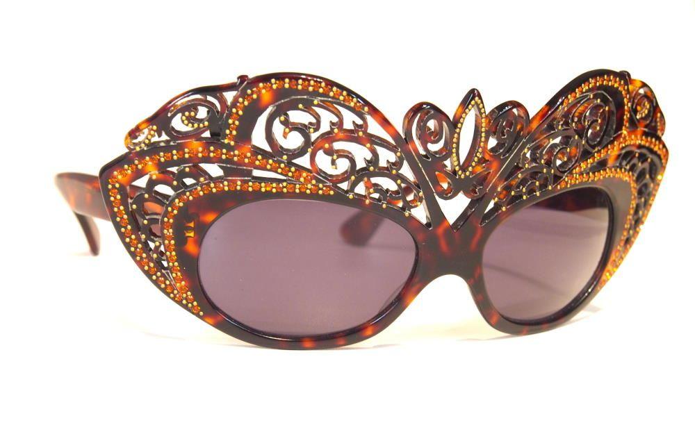 Schmetterlings-Schmuckbrille mit Straß 00CD37 369