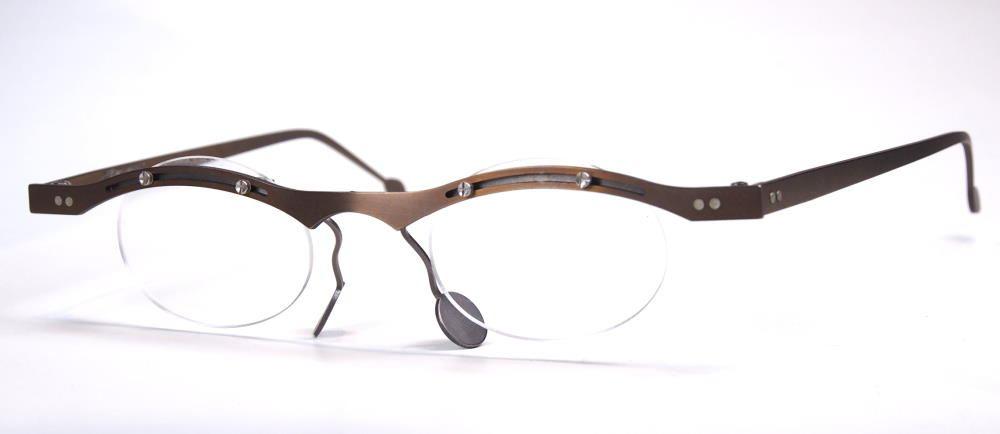 Rosenberger Vintagebrille der 90Jahre fabrikneu 100% Titan Mod. Swinger.