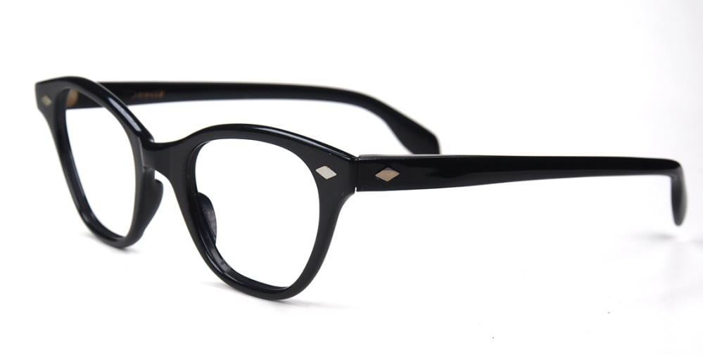 Cateyebrille, Schmetterlingsbrille, Rockabillybrille der 60er Jahre Brille