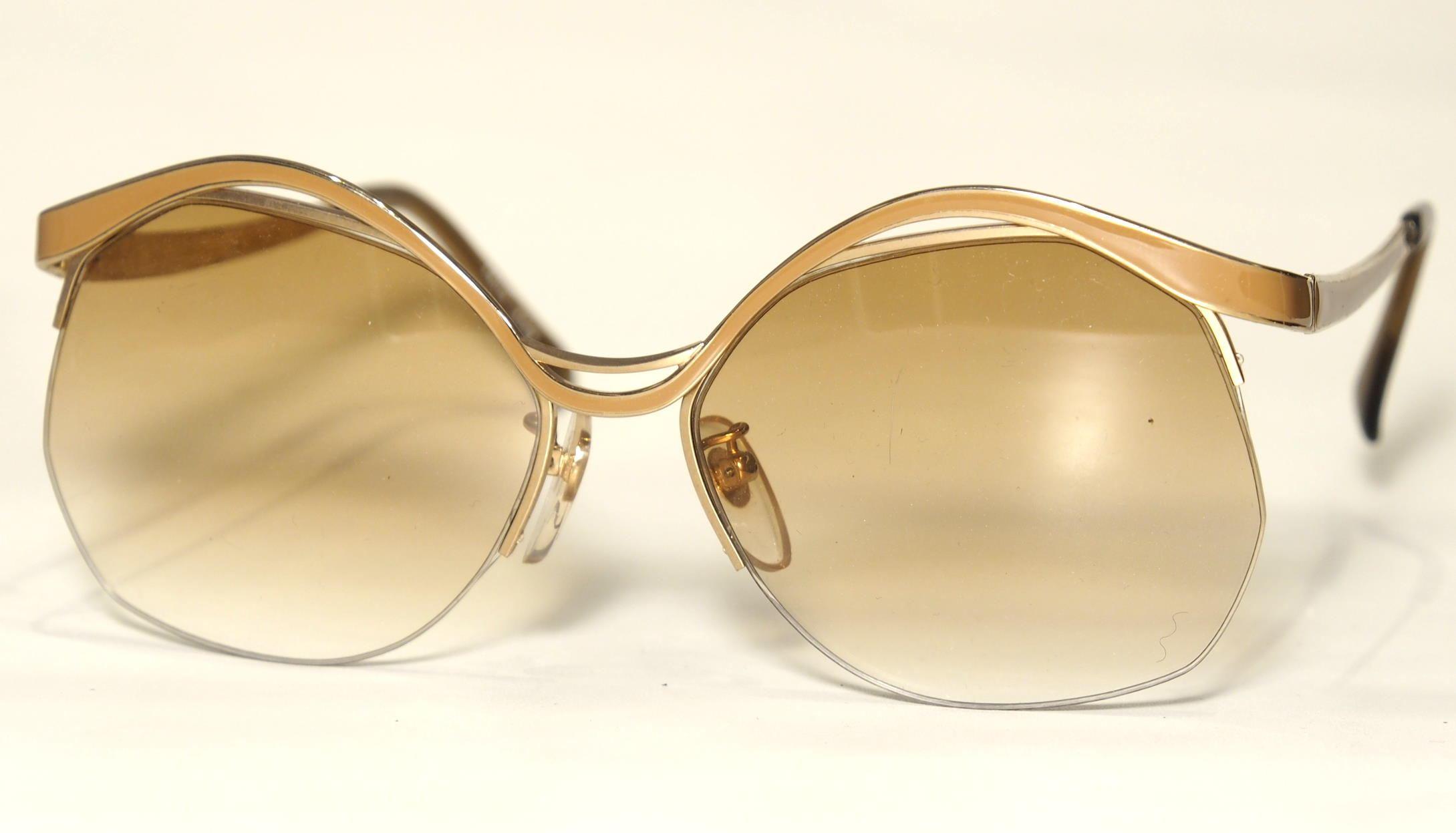 Echte Vintage  Sonnenbrille Modell: Luna von Selecta New York