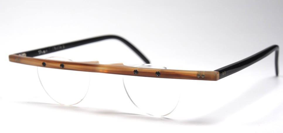 Theo Büffelhorn eyewear  Brille  made in belgiun