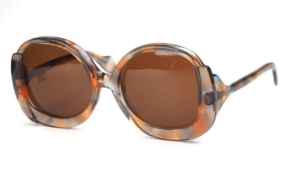 Echte VintageSonnenbrille der 70er Jahre große Form